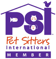 Member of PSI Pet Sitters International
